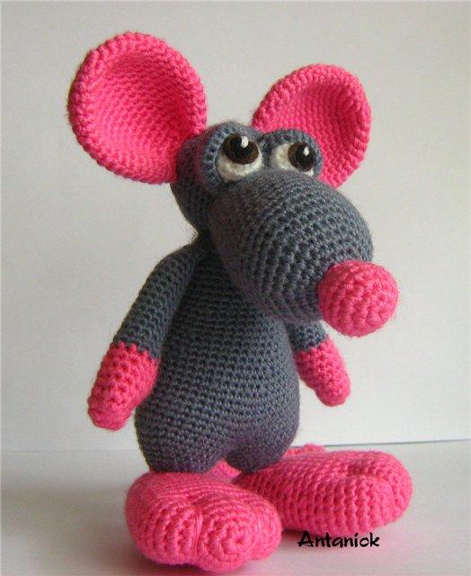 мышка донна от пн амигуруми форум почитателей амигуруми вязаной