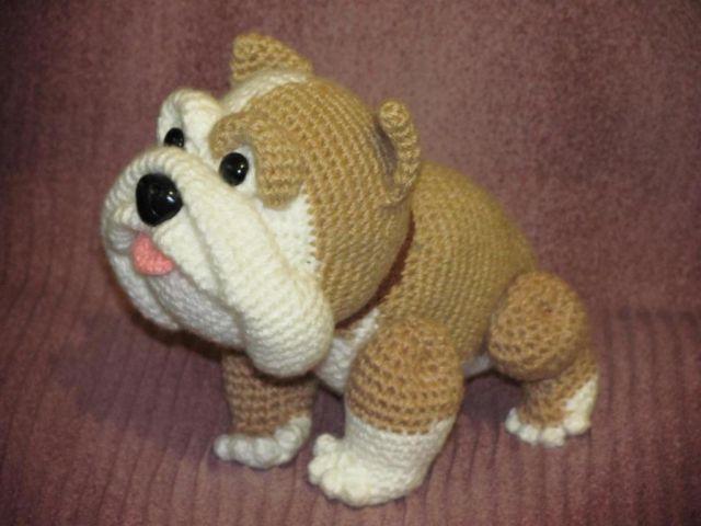 Схемы и описание вязанных игрушек собак