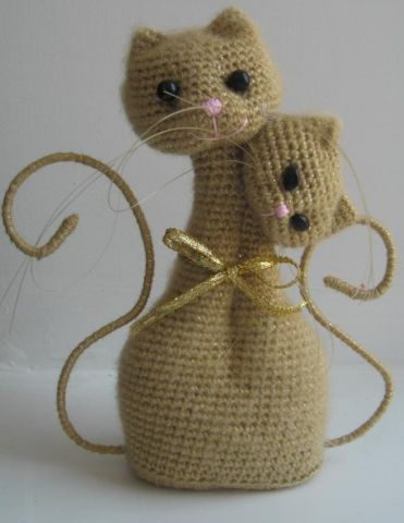 Мороза Снежная амигуруми коты неразлучники схема все времена хотели