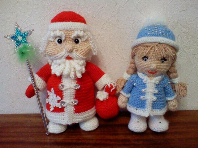 Снегурочка своими руками вязаная кукла крючком