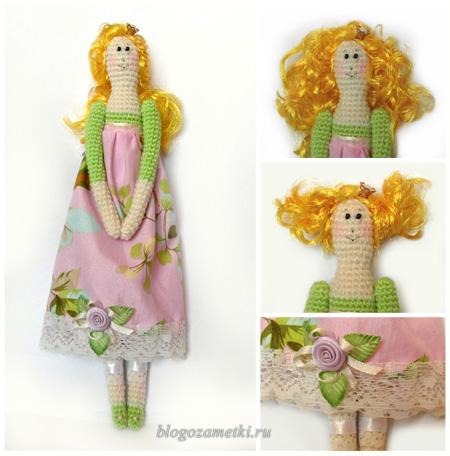Схемы вязания крючком для куклы тильды 65