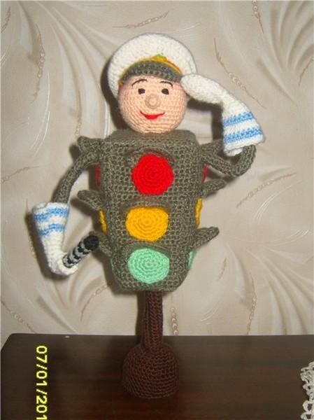 Светофор игрушка своими руками