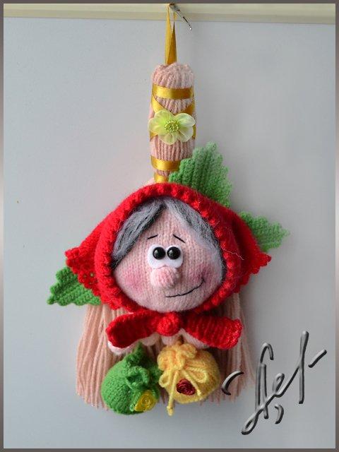 Домовушка луша вязание спицами 27