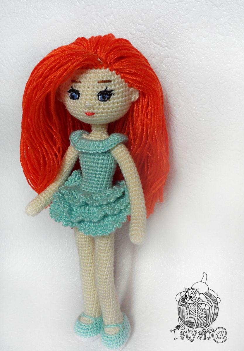 Вязаная кукла для девочки своими руками