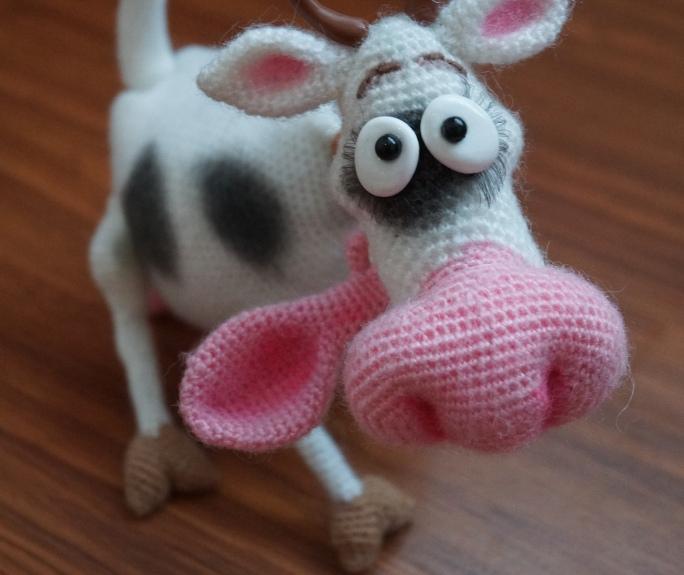 Схемы амигуруми коровы