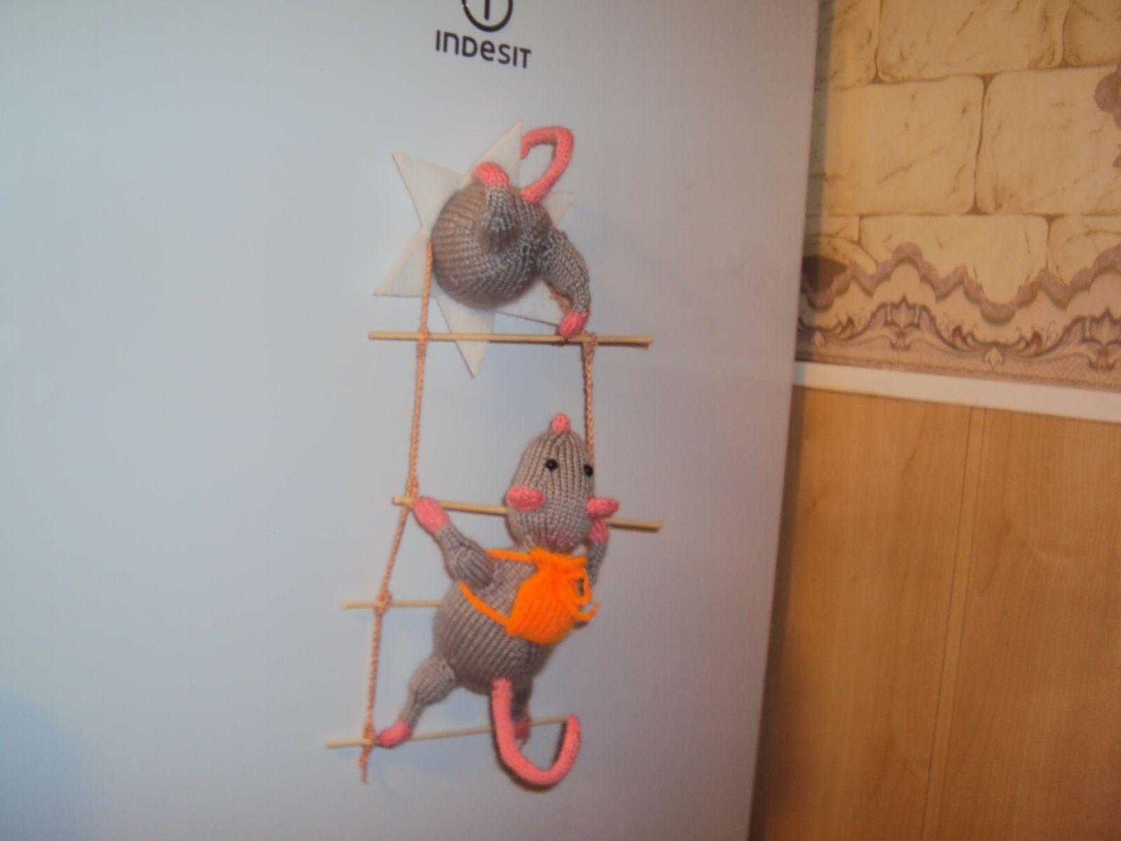 Мышь на холодильник своими руками