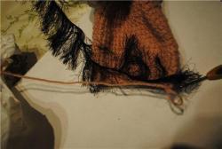 Метод вязания накладкой