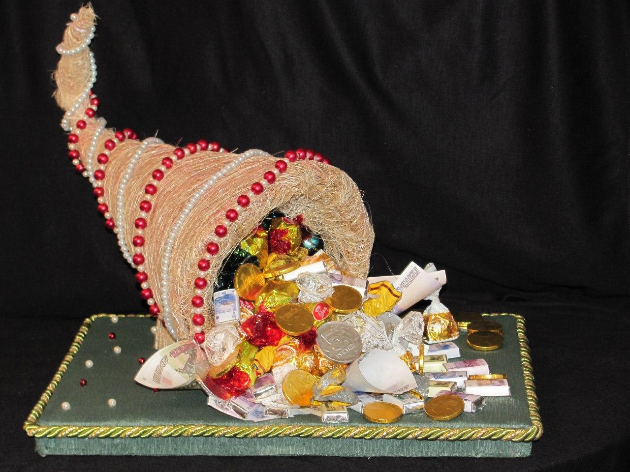 нем принято оформление и приготовление торта рог изобилия фото могу сложить