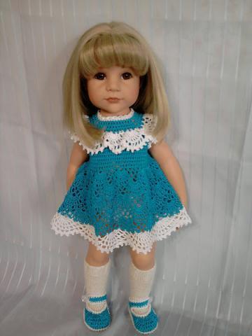 Вязание на кукол фото