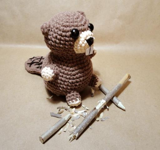 Схема вязания крючком бобер