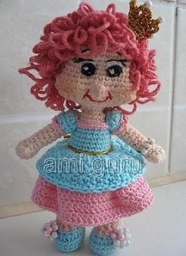 мастер-класс по вязанию куклы