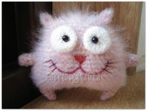 описание мишки-амигуруми