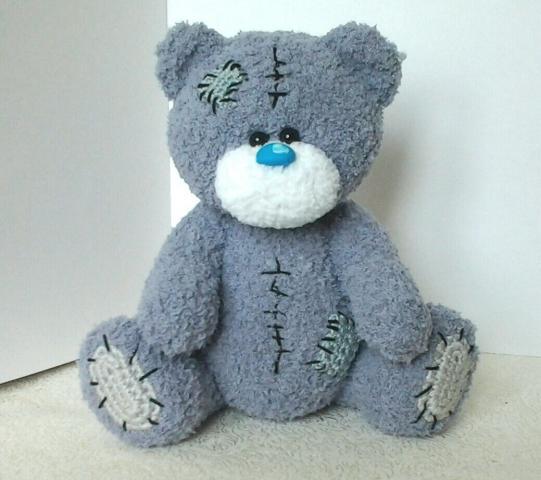 Вязание крючком мишка тедди