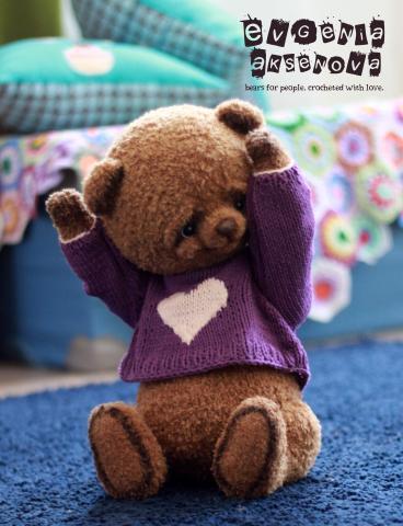 медвежонок крючком