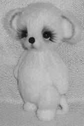 Мышонок вязанный спицами