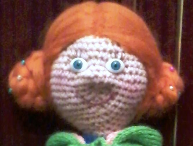 утяжка вязаных игрушек мордочка глаза волосы форум почитателей