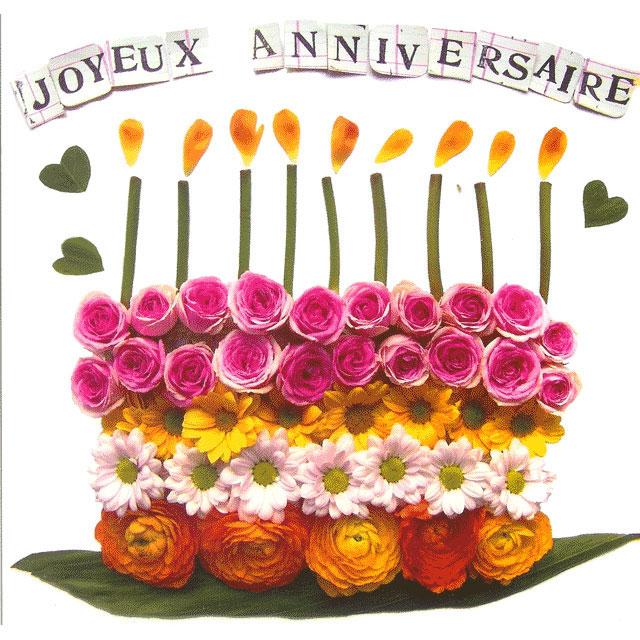 Поздравительные открытки с днем рождения на французском, открытку сообщении