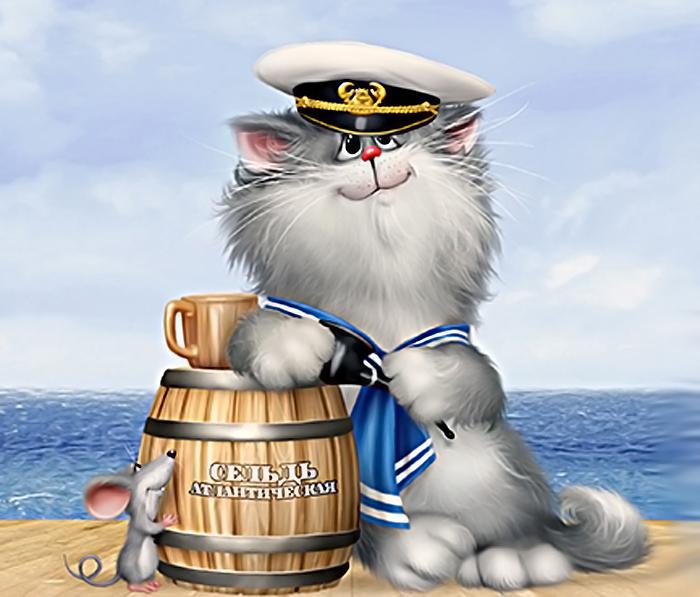 Шуточные поздравления от моряков