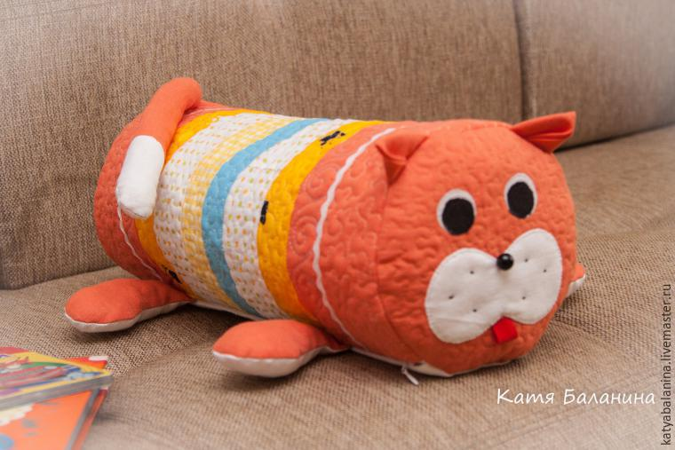 Сшить игрушку подушку