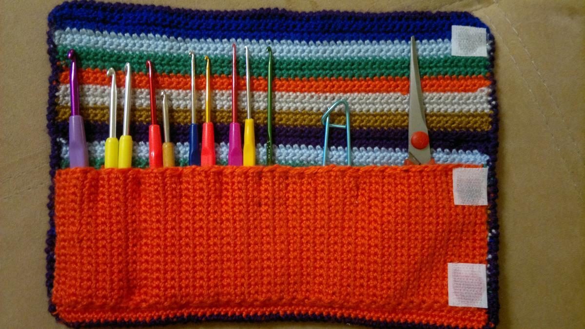 Чехол для крючков по вязанию 13