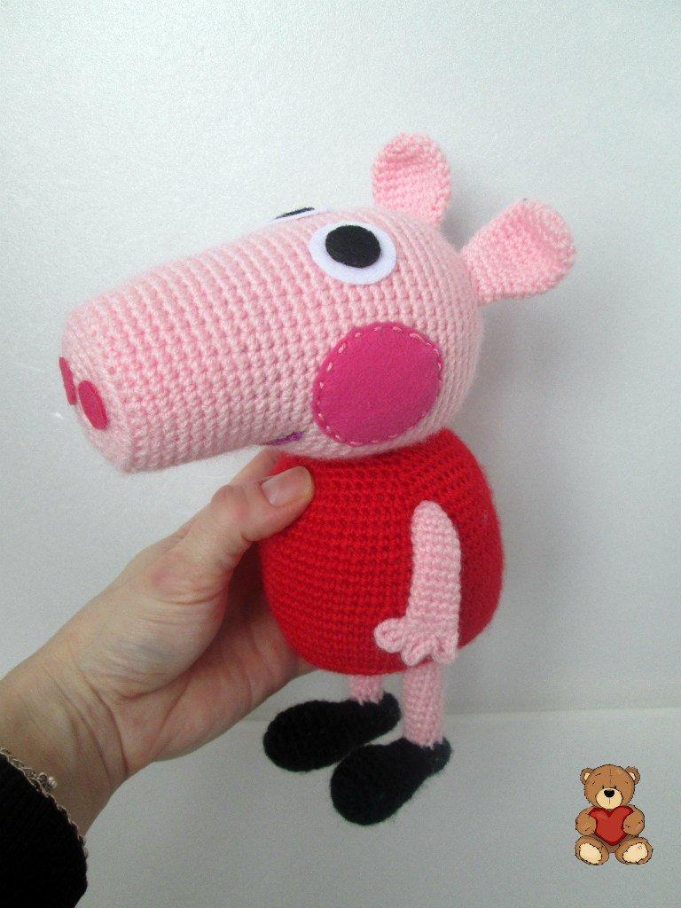 свинка пеппа амигуруми форум почитателей амигуруми вязаной игрушки