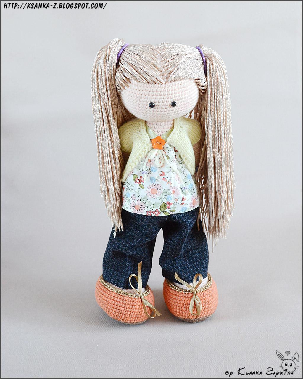 Кукла своими руками из ниток крючком
