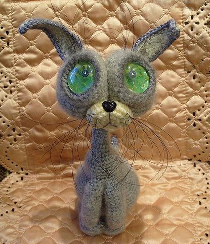 Вязанные сиамские коты 26