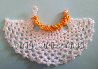 Платье ангела крючком