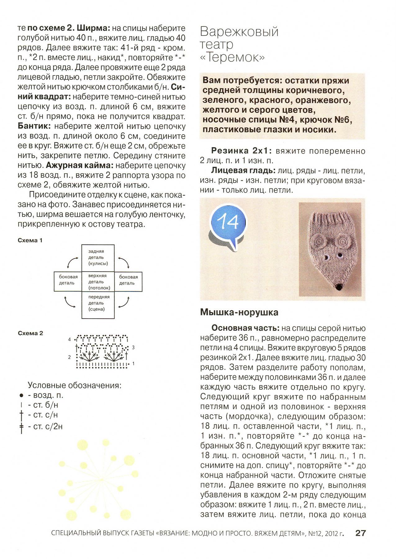 """Пальчиковый театр """"Теремок"""" (подарок в садик, много фото МК домика) 14"""