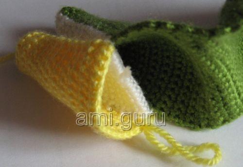 вяжем крокодила крючок