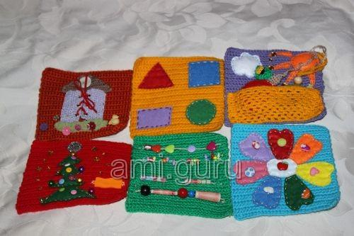 вяжем развивающий куб для малышей вязаные игрушки амигуруми всех
