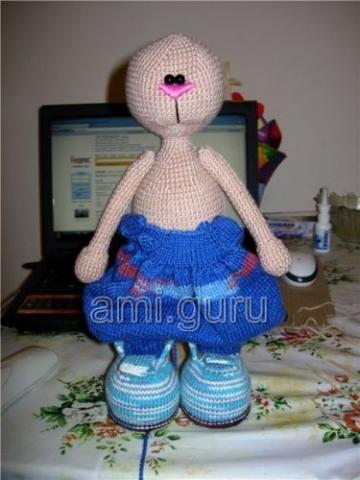 одежда для вязаных игрушек